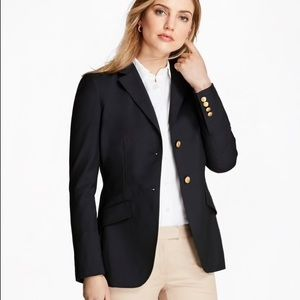 Ralph Lauren Polo Navy Blue Blazer w gold buttons